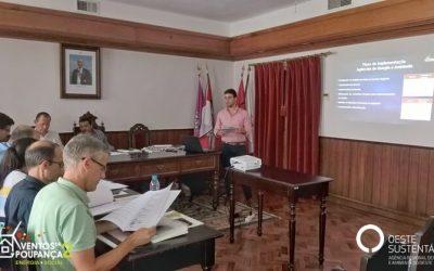 """OesteSustentável realiza reunião de arranque com Agências de Energia parceiras no âmbito do projeto """"Ventos de Poupança 2: Energia + Social"""""""