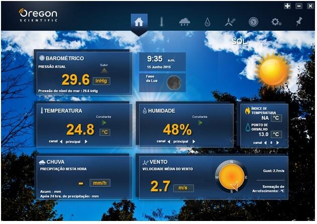 software estaá∆o meteorol¢gica b
