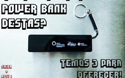 """OesteSustentável lança desafio relâmpago """"Um desafio carregado de energia"""" e oferece três baterias portáteis"""